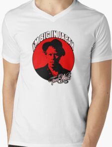 Big in Japan - Tom Waits Mens V-Neck T-Shirt