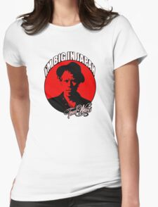 Big in Japan - Tom Waits Womens Fitted T-Shirt
