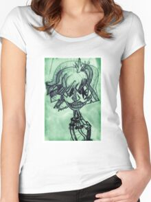 Lomo Cyborg Women's Fitted Scoop T-Shirt