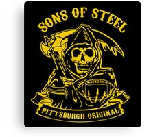 Son Of Steels Pittsburgh Steelers Canvas Print