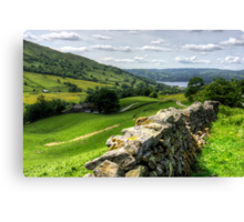 Windermere from The Struggle Canvas Print