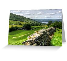 Windermere from The Struggle Greeting Card