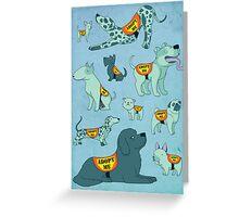 Adopt a Dog Greeting Card