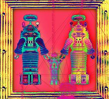 Robot Family 2 by RichardSmith