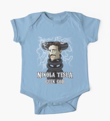 Nikola Tesla: Geek God One Piece - Short Sleeve