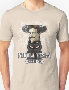 Nikola Tesla: Geek God T-Shirt