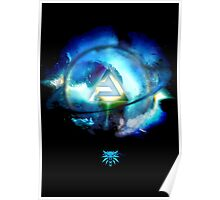 The Witcher Professional Series - Aard (Symbol) Poster