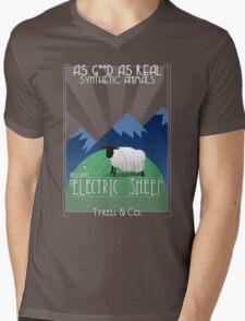 Electric Sheep Mens V-Neck T-Shirt