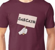 Sarcasm Sign Unisex T-Shirt