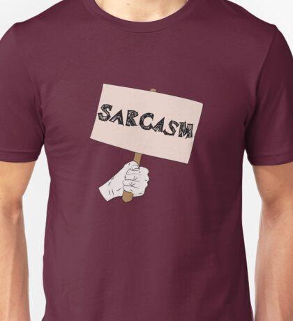 Sarcasm Sign Unisex T-Shirt