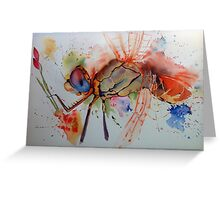 Dragonfly-eye Greeting Card