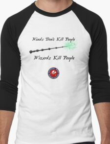 National Wand Association Men's Baseball ¾ T-Shirt