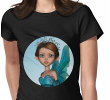 Blue Fairy Womens Fitted T-Shirt