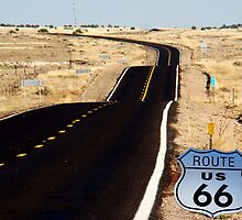 A Nostalgic Look Back at Route 66  by Eva Kato by Eva Kato