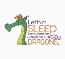 In the Morning He Will Slay Dragons Baby Tee