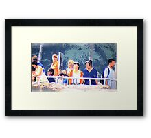 Everybody is looking for something Framed Print