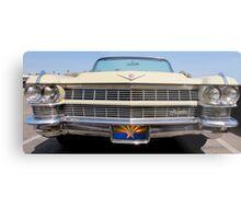 Cadillac Grill Metal Print