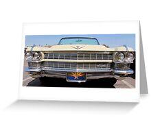 Cadillac Grill Greeting Card