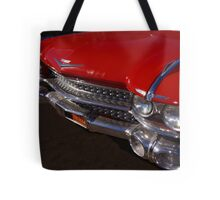 Red Cadillac Grill Tote Bag