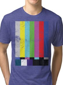 TV test Lines  Tri-blend T-Shirt