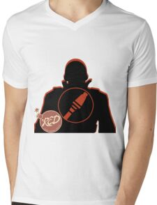 RED Soldier - Team Fortress 2 Mens V-Neck T-Shirt