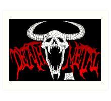 Death Metal Art Print