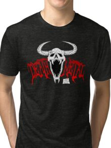 Death Metal Tri-blend T-Shirt