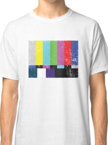 TV test Lines (Half t-shirt 02) Classic T-Shirt