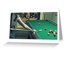 Pool Greeting Card
