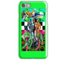 Robots Ride A Tiger iPhone Case/Skin