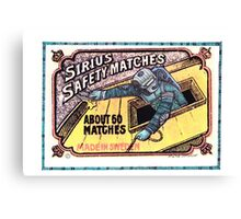 Diving in matchbox Canvas Print