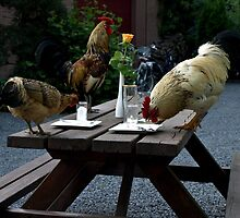 Guests on Table. by Janone