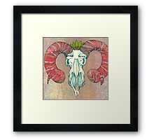May Ram Framed Print
