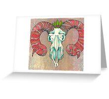 May Ram Greeting Card