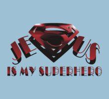 Jesus is my Superhero Kids Clothes