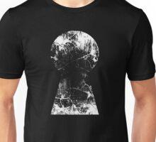 Kingdom Hearts Keyhole grunge Unisex T-Shirt