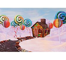 Candy World Revisited Photographic Print