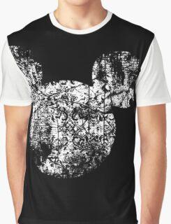 Kingdom Hearts King Mickey grunge Graphic T-Shirt