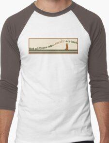 Wandering Men's Baseball ¾ T-Shirt