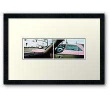 Long Pink Cadillac Framed Print