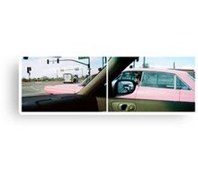 Long Pink Cadillac Canvas Print