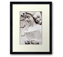 Angels, Prayers and Miracles Framed Print