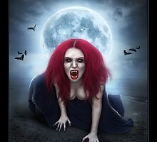 Blood Lust Vampire Lady by Emily Heatherly
