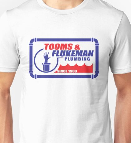 Tooms and Flukeman Plumbing Unisex T-Shirt