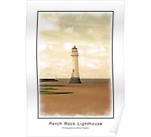 Perch Rock Lighthouse Poster