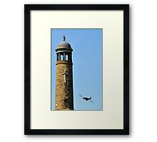 FLY BY CRICH Framed Print