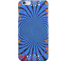 Blue Tiger Spikes iPhone Case/Skin