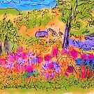 My holidays drawings. Falforos. Sweden. by © Andrzej Goszcz,M.D. Ph.D