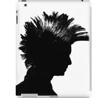 Mohawk Silhouette iPad Case/Skin