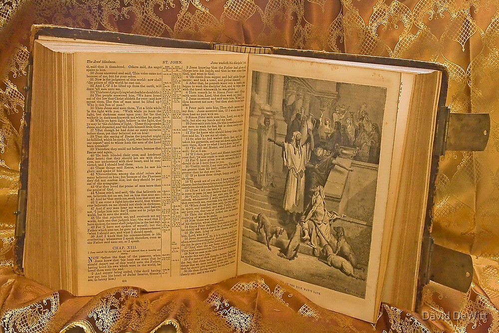 150 Year-Old Family Bible by David DeWitt